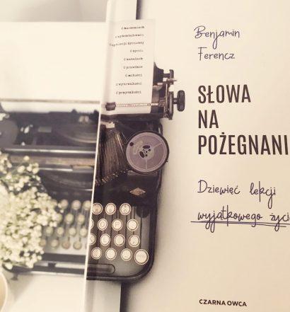 Słowa na pożegnanie, Wydawnictwo Czarna Owca, fot. Lady Pasja