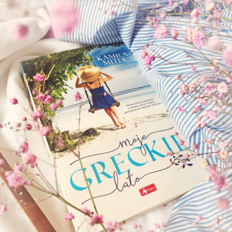 Moje greckie lato, Kamila Mitek, Wydawnictwo Dragon, fot. Lady Pasja